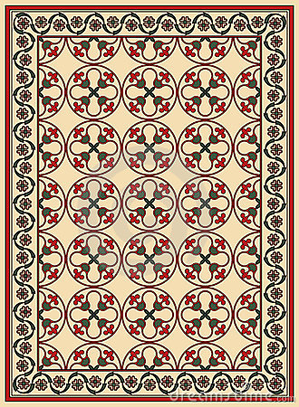 Persian vector carpet