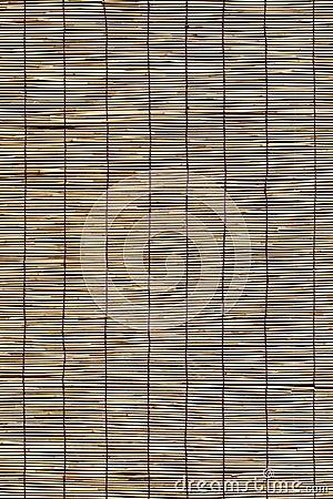 Persianas del bambú