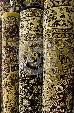persische teppiche auf bildschirmanzeige stockfoto bild 5640440. Black Bedroom Furniture Sets. Home Design Ideas