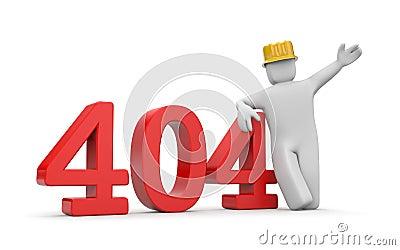Person and 404 error