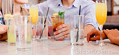 Person In Blue Shirt Near Clear Drinking Glass Free Public Domain Cc0 Image