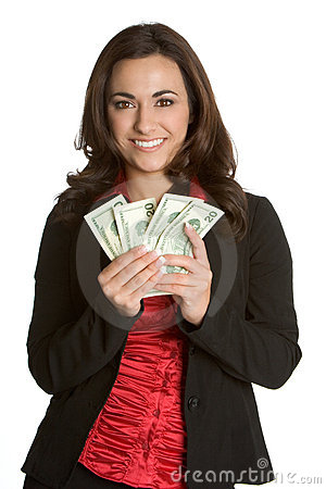 Free Person Holding Money Royalty Free Stock Images - 3602599