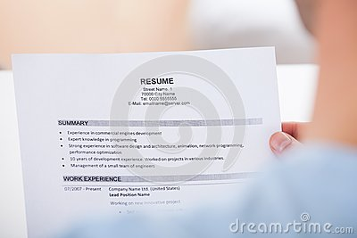 handing in a resume in person quot person hand holding resume