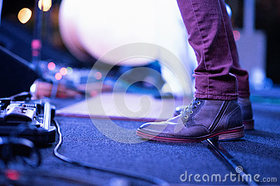 Person On Purple Denim Jeans And Gray Leather Zip Side Boots Free Public Domain Cc0 Image