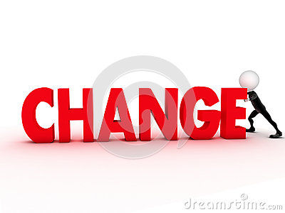 A word for a person that looks for change?