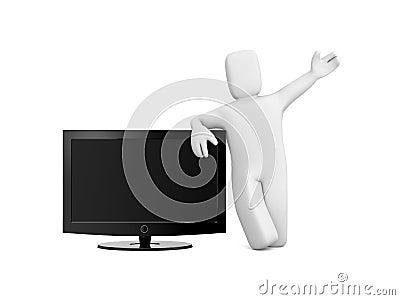 Person sale TV