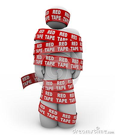 red tape  bureaucracy