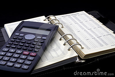 Personal diary and calculator