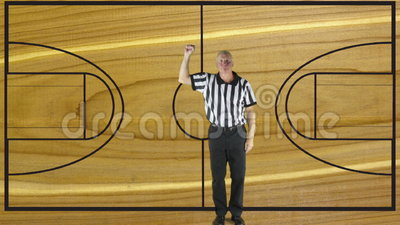 Personal foul court stock video video 60633337 for Personal basketball court