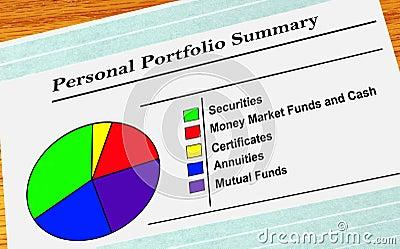 Personal Portfolio Summary