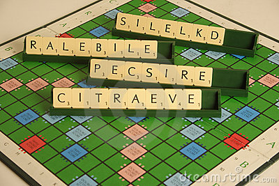Personal qualities as a scrabble anagram