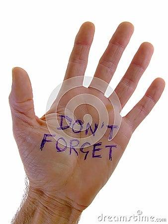 Free Personal Reminder Royalty Free Stock Image - 5657416