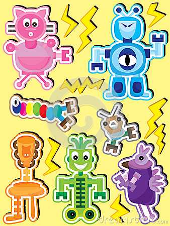 Personality Robot Set_eps
