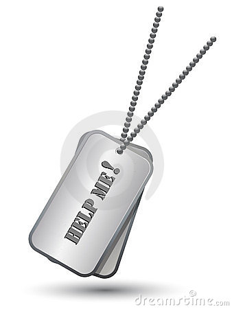 Personalized army tags