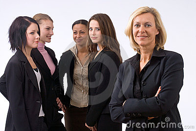 Personas del asunto en oficina
