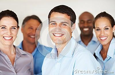 Personas felices del asunto