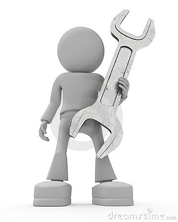 Personen hält Schlüssel