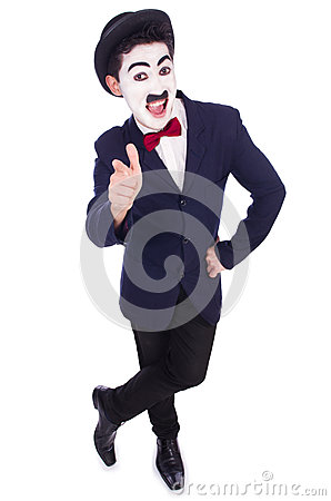 Personifikation av Charlie Chaplin