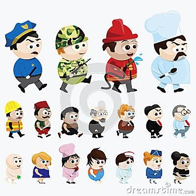 Personnages de dessin animé