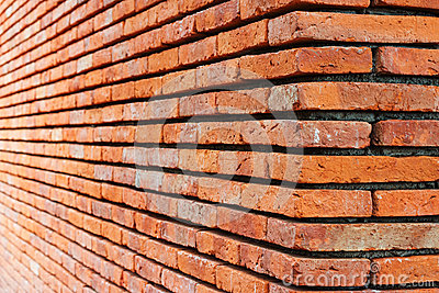 Perspective Brick wall