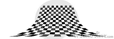 Perspective chessboard