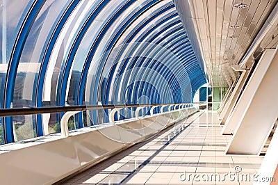 Perspective of the corridor