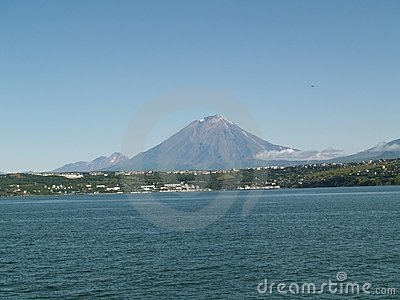 Perspectives of Koryaksky volcano 2