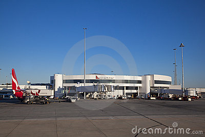 Perth Domestic Airport Editorial Stock Photo