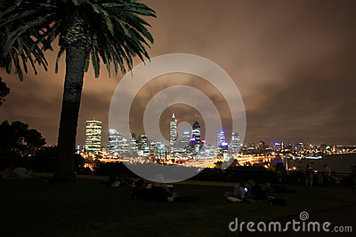 Perth at night,Western Australia