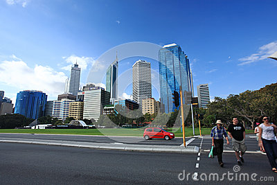 Perth,Western Australia Editorial Photography