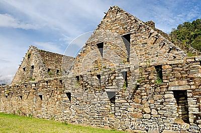 Peru, Inca ruins of Choquequirau near Cuzco