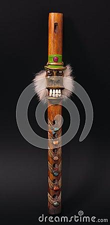 Peru ritual pipe
