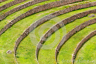 Peru, Sacred Valley, Inca agriculture laboratory