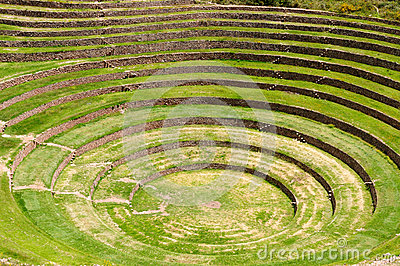 Peru, Sacred Valley Inca Laboratory of agriculture