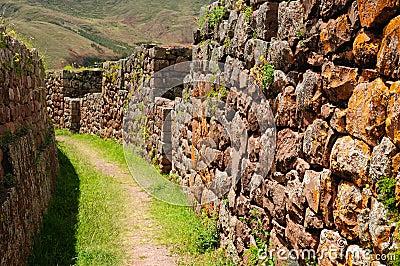 Peru, Sacred Valley, Pisaq Inca ruins