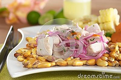 Peruano-Estilo Ceviche