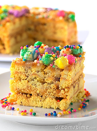 Free Peruvian Cake Called Turron Stock Photos - 19842733