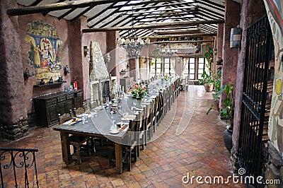 Peruvian hacienda interior