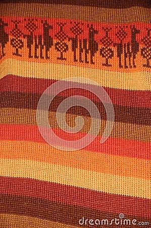 Peruvian Textile Detail