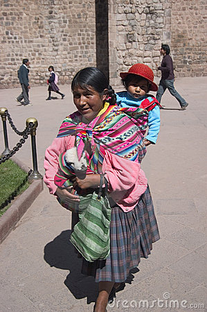 Peruvian Woman Editorial Image