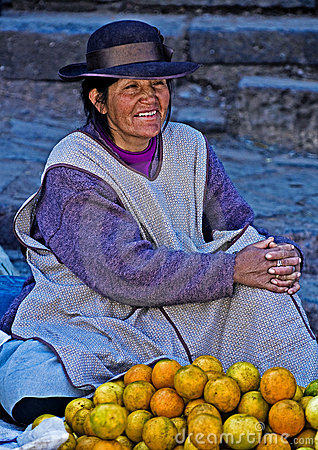Peruvian Woman Royalty Free Stock Photo - Image: 20699945