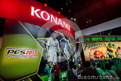 PES 2013 at E3 2012 Editorial Photo