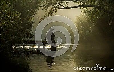 Pescador da mosca