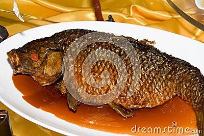 Pescados chinos de la comida imagenes de archivo imagen for Pescado chino