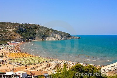 Peschici beaches, Italy