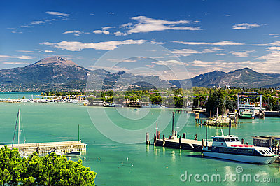 Peschiera del Garda Editorial Photo