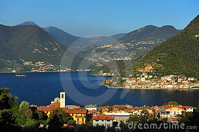 Peschiera Town, Iseo Lake Stock Photos - Image: 12986503
