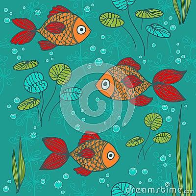 Pesci in uno stagno fotografia stock immagine 25558160 for Pesci stagno