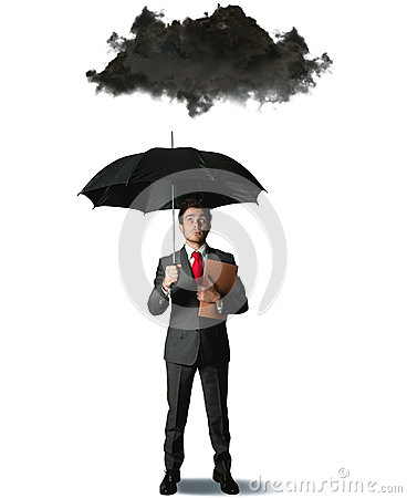 Free Pessimist In Business Royalty Free Stock Photography - 27191317