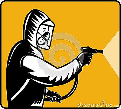Pest exterminator pesticide